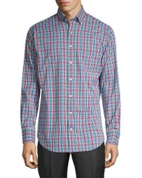Peter Millar - Collier Plaid Button-down Shirt - Lyst