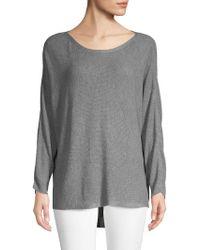 50bbb36b797 Lyst - Joie Kerenza Cashmere Rib-knit Sweater in Blue