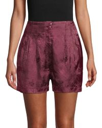 Free People - Go Your Own Way Jacquard Shorts - Lyst