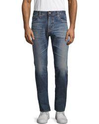 AG Jeans - Dark-wash Denim Pants - Lyst