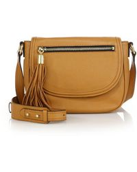 MILLY - Astor Leather Saddle Bag - Lyst