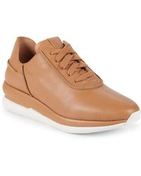 Gentle Souls - Raina Lace-up Leather Trainers - Lyst