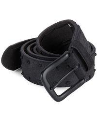 John Varvatos   Knotted Leather Belt   Lyst