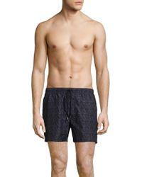 Giorgio Armani - Woven Drawstring Shorts - Lyst
