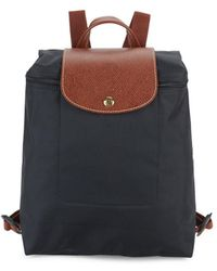 Longchamp - Contrasting Colored Backpack - Lyst