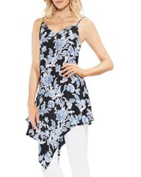 Vince Camuto - Amalfi Breeze Floral-print Top - Lyst