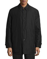Ralph Lauren - Lerner Button Front Coat - Lyst