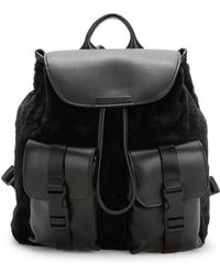 Kendall + Kylie - Lex Faux-fur Backpack - Lyst