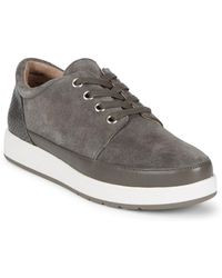Donald J Pliner - Miranda Suede Fashion Trainers - Lyst