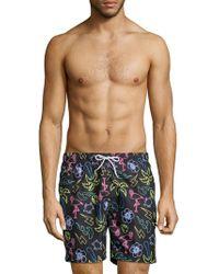 Trunks Surf & Swim - Neon Glow Sano Swim Shorts - Lyst