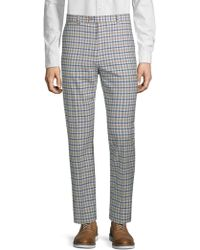 Paisley and Gray - Downing Plaid Trousers - Lyst