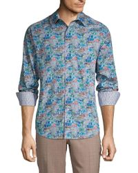 Robert Graham - Clanton Classic-fit Printed Cotton Sport Shirt - Lyst