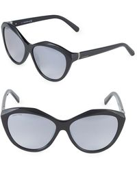 Swarovski - 58mm Butterfly Sunglasses - Lyst