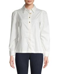 Love Moschino - Classic Long-sleeve Top - Lyst