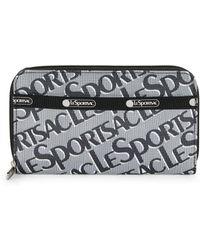 LeSportsac - Logo Zip-around Wallet - Lyst