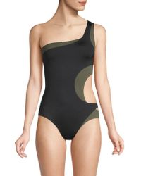 Proenza Schouler - One-piece Layered Swimsuit - Lyst