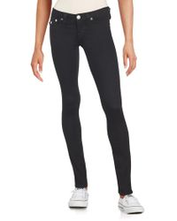 True Religion - Solid Five-pocket Jeans - Lyst