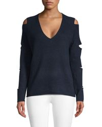 360cashmere - Tyrone Slash Sleeve Cashmere Sweater - Lyst