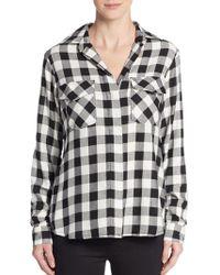Sam Edelman - Split Sequined-back Shirt - Lyst