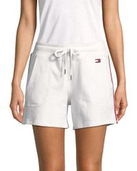 Tommy Hilfiger - Striped Shorts - Lyst