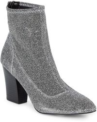 Nine West - Back Zip Booties - Lyst