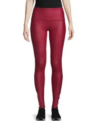 Just Live - Lace-up Barre Leggings - Lyst