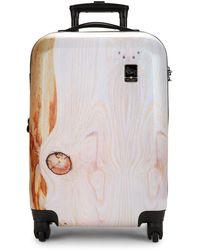 Mia Toro - 22-inch Spinner Suitcase - Lyst