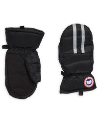 Canada Goose - Stripe Down-filled Mitts - Lyst