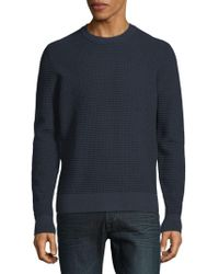 J.Lindeberg - Textured Knitted Sweater - Lyst