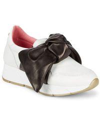 Blumarine | Slip-on Bow Sneakers | Lyst