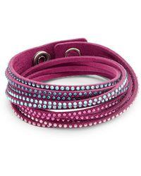 Swarovski - Slake Two-in-one Wrap Bracelet - Lyst