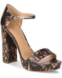 Pour La Victoire - Yvette Platform Ankle-strap Sandals - Lyst