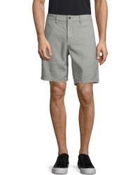John Varvatos - Classic Casual Shorts - Lyst