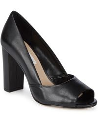 Saks Fifth Avenue - Charlotte Leather Court Shoes - Lyst