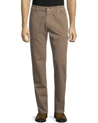 Eidos - Slim Straight Fit 5-pocket Chino - Lyst
