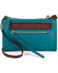 Kooba - Ridgefield Mini Leather Crossbody Bag - Lyst