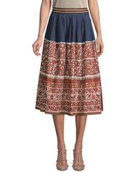40832a2bb3 Women's Weekend by Maxmara Mid-length skirts On Sale - Lyst