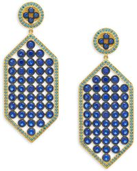 Freida Rothman - Modern Mosaic Post Earrings - Lyst