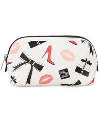 Saks Fifth Avenue - Fashion-print Zip Pouch - Lyst