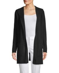 Saks Fifth Avenue - Cashmere Hooded Cardigan - Lyst