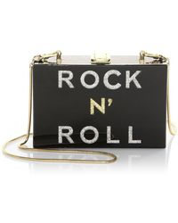 MILLY - Smoky Box Clutch - Lyst