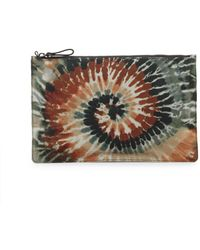 Valentino - Printed Zip Pouch - Lyst
