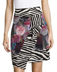 Robert Graham - Silk Wrap Skirt - Lyst