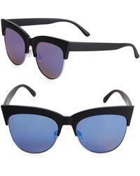 Fantaseyes - ??9mm Cat Eye Sunglasses - Lyst