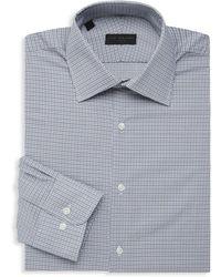 Ike By Ike Behar - Micro Check Long-sleeve Dress Shirt - Lyst