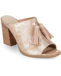 Seychelles - Tassel Leather Mules - Lyst
