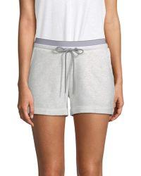 Marc New York - Striped Heathered Shorts - Lyst