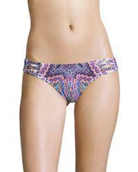 Red Carter - Strappy Bikini Bottom - Lyst
