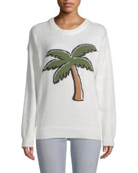 English Factory - Palm Graphic Jumper - Lyst