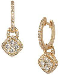 Le Vian - 14k Honey Goldtm & Vanilla Diamonds® Drop Earrings - Lyst